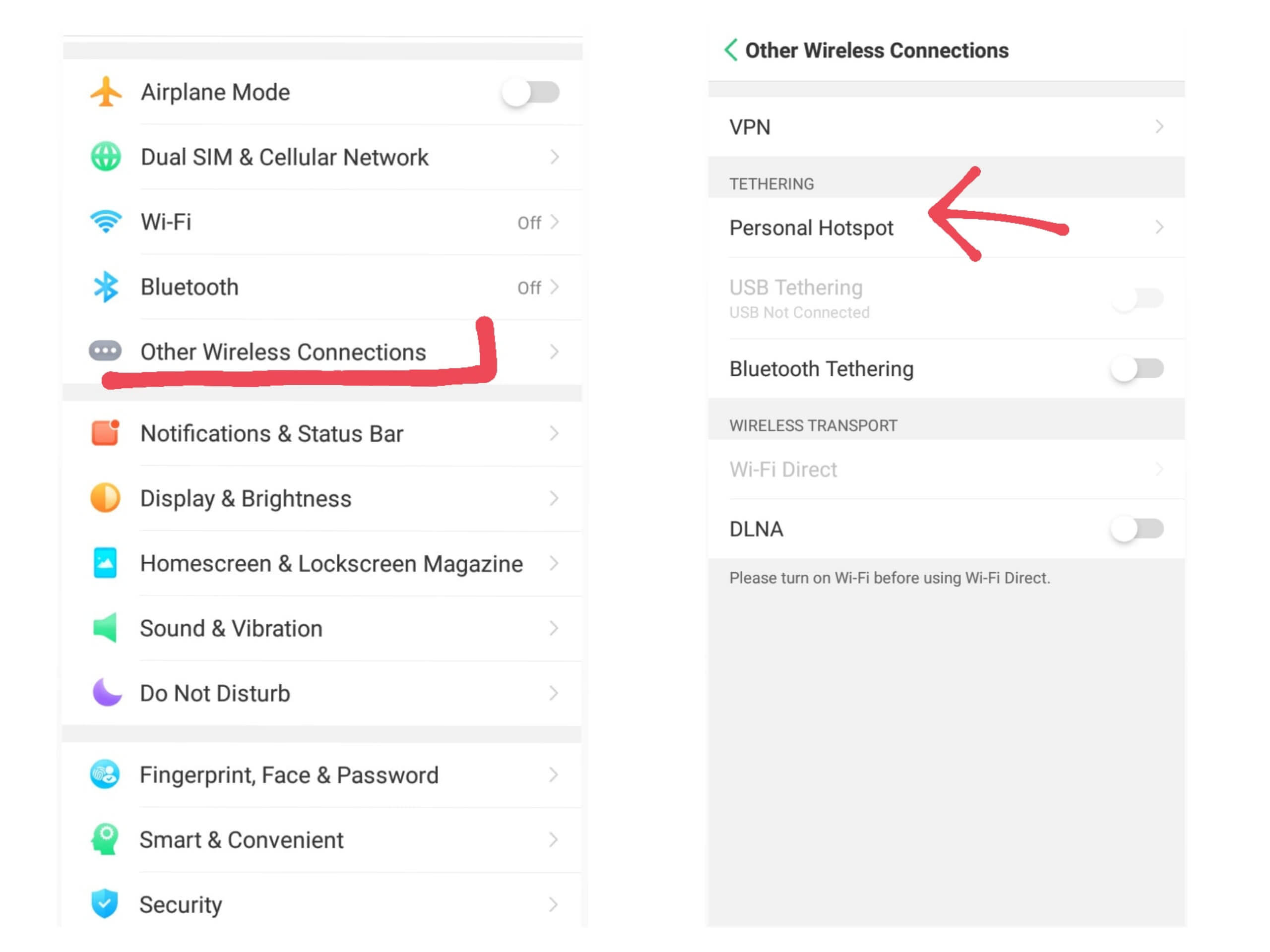 Network Security Key for Android