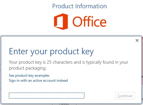 How to Active MS Office 2010