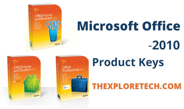 Microsoft Office 2010 Product Key Free