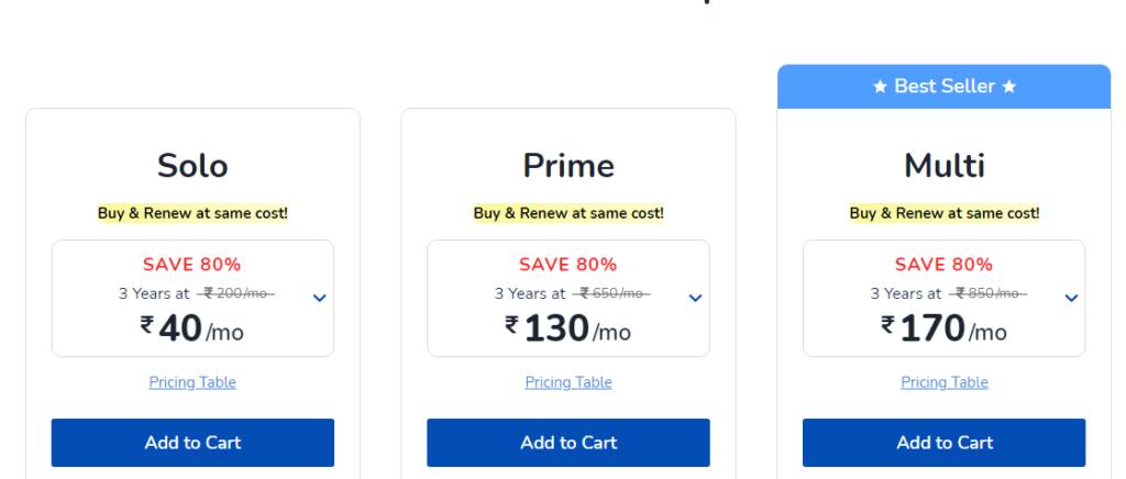 Unbeatable Pricing